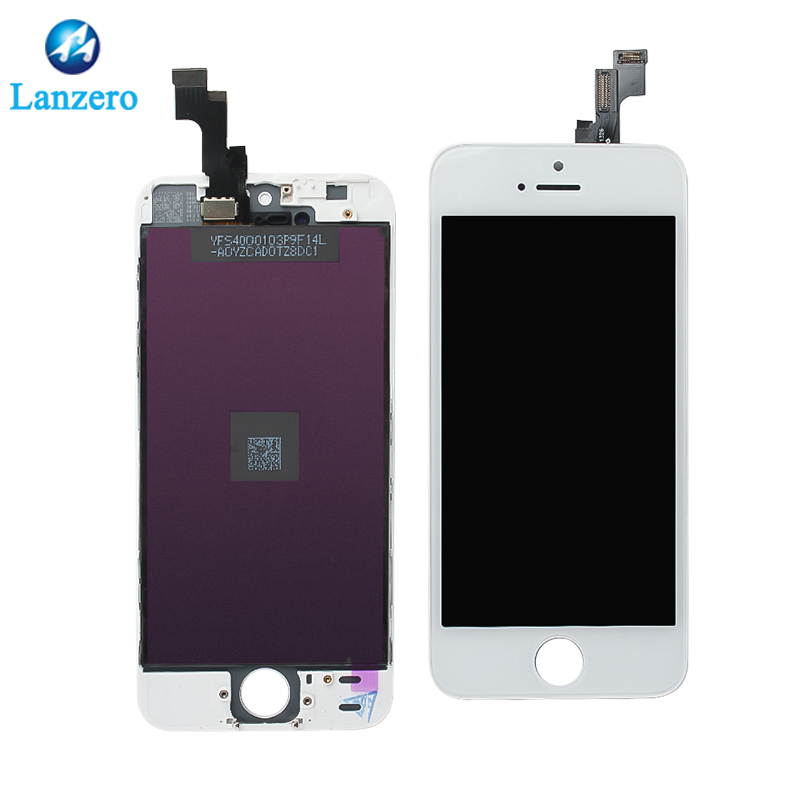 Para a tela de toque do conjunto do iphone 5s LCD, telefone móvel LCDs para o iPhone 5s