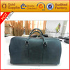 European classical designer quality leather light wedding dress travel bag