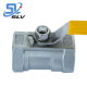1Inch 2 Inch 3Inch 4 Inch DN15 DN20 DN25 DN32 DN40 Stainless Steel Threaded 1 PC 1 Piece Ball Valve With Handle