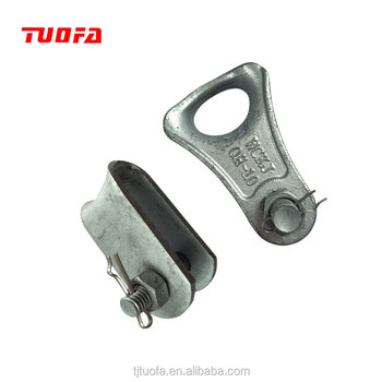 Galvanized Thimble Clevis/Forged Cast Iron Hardware / Cable Wire ...
