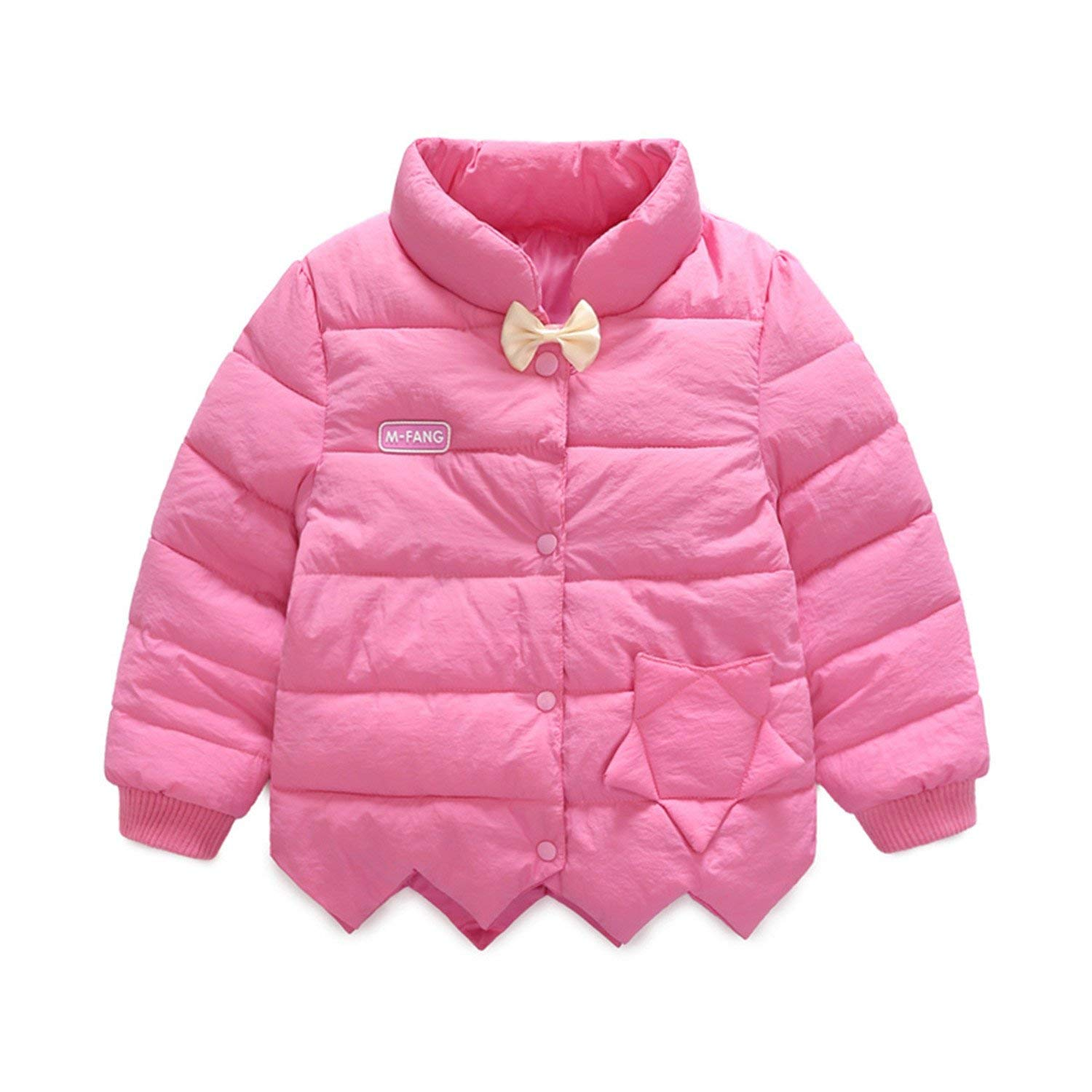 a1361efe3 Get Quotations · Samuel Roussel Infant Girls Coats New Autumn Winter Jacket  Warm Outerwear Children Clothes