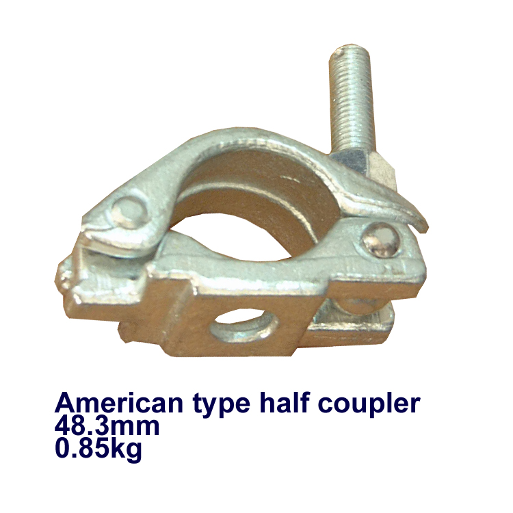 American type forged scaffolding coupler/clamp for construction