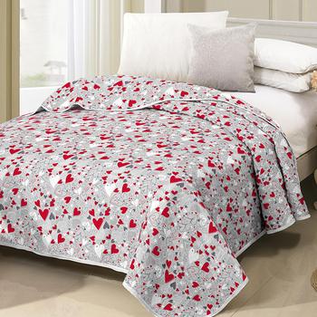 high quality cheap elegant loving heart bedspread for wedding buy