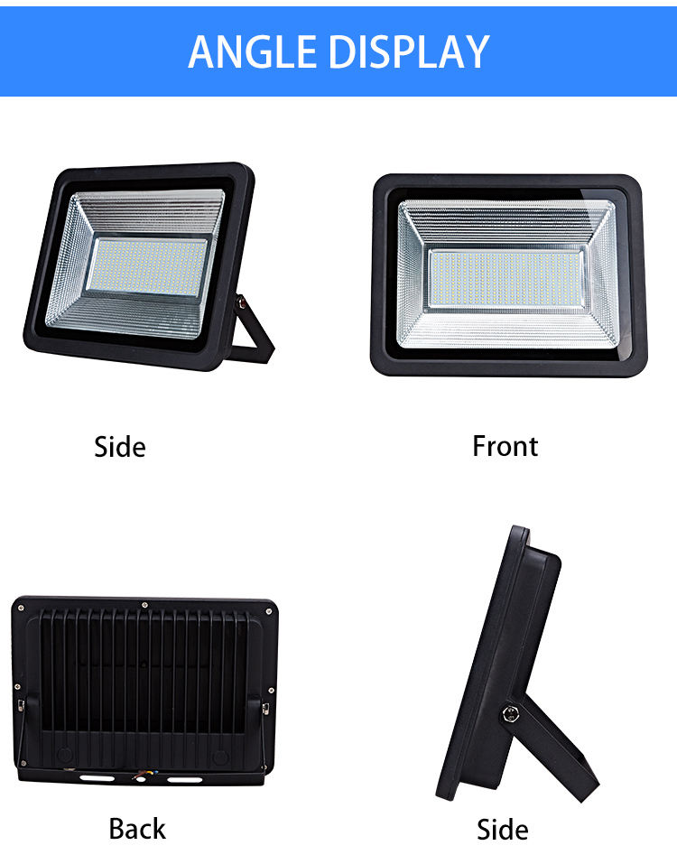 Energy saving long lifespan cool white 220v 100w 200w led flood light