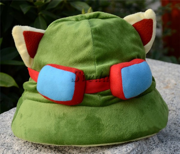 Giochi caldi League of Legends Teemo cappello Teemo cappello di peluche LOL cappello di cosplay