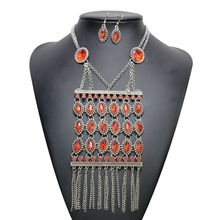 New Design Fashion Costume Cheap Necklace And Earring Sets