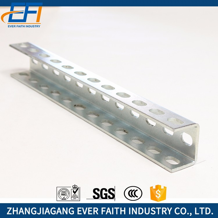 High Quality Not Perforated Perforated Aluminium U Channel