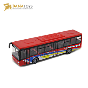 Pull back Baby Mini diecast city model toy bus