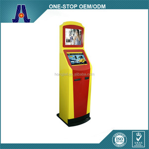 dual display vending machine kiosk with bill validator (HJL-3306)