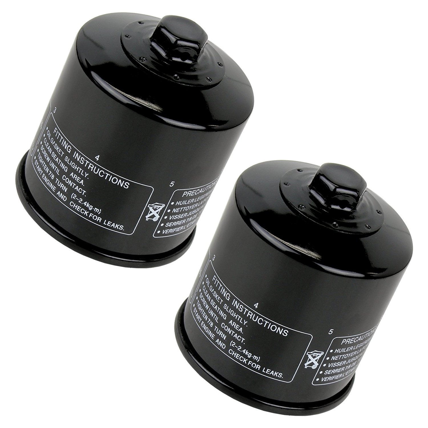Get Quotations · Caltric Oil Filter Fits KAWASAKI ENGINE FD611V FD-611V  FD620D FD-620D 20HP 20