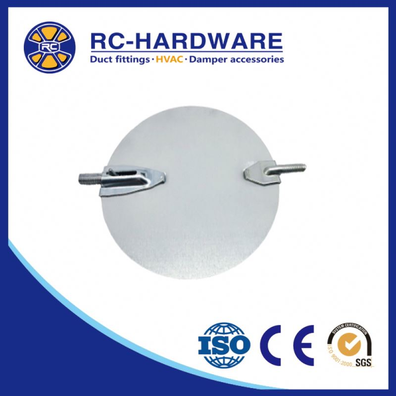 heat recovery electric ventilation HVAC damper system