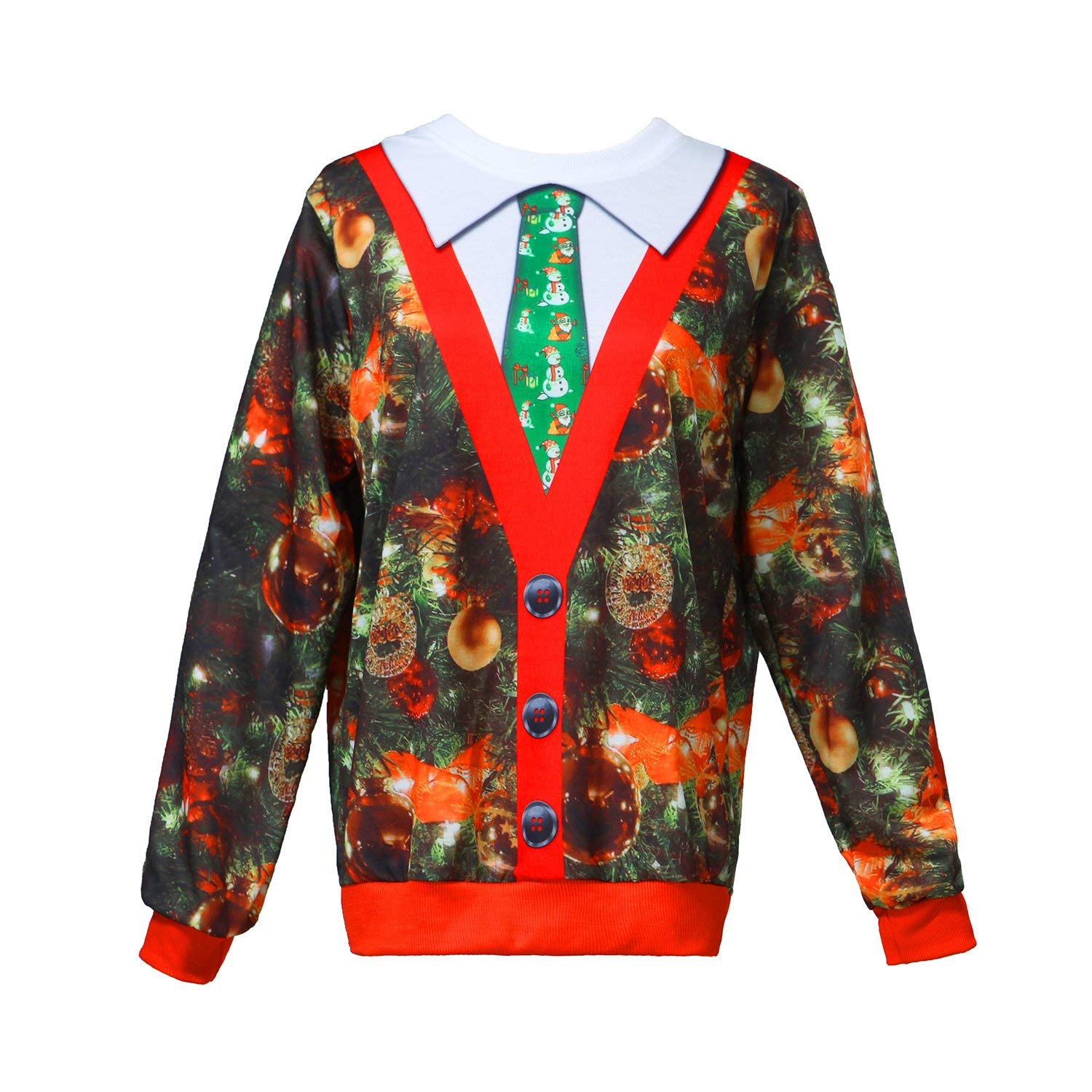 Buy Looney Tunes Ugly Christmas Sweater Mens Graphic T Shirt in ...