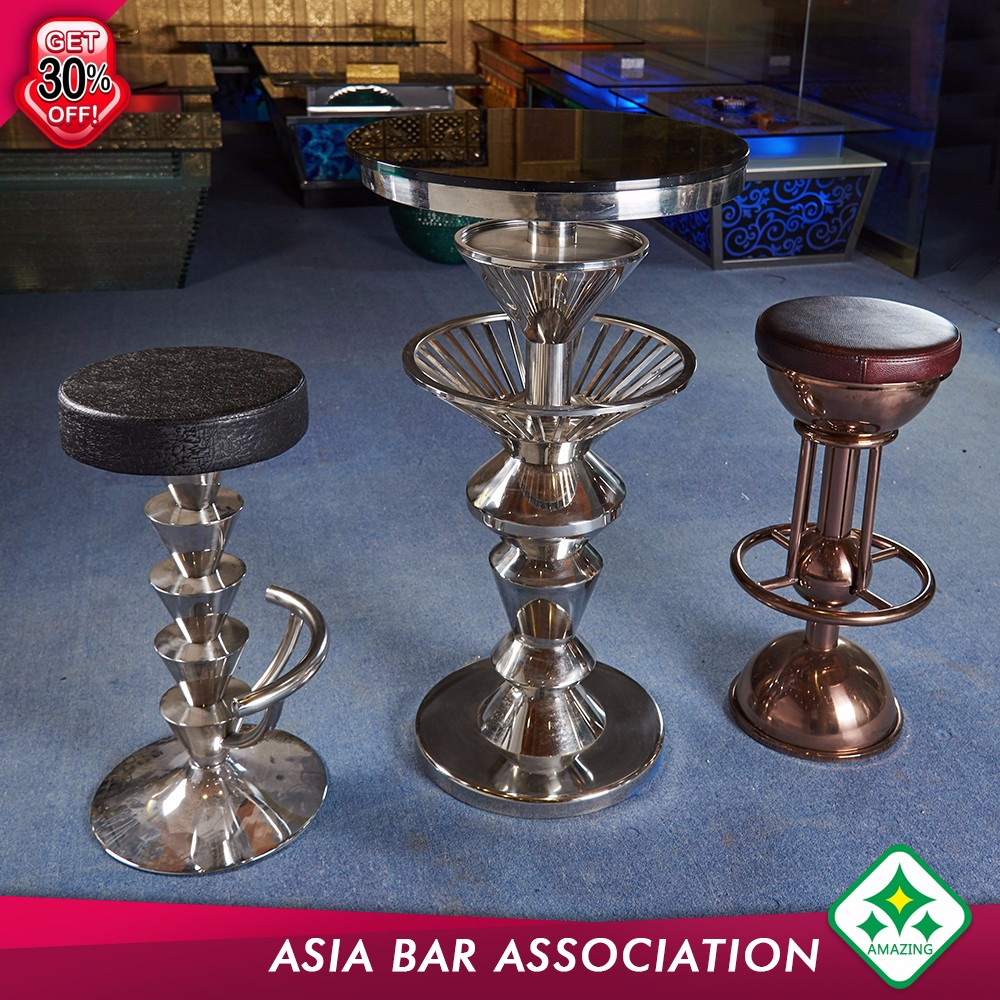 Bar Led High Top Cocktail Tables