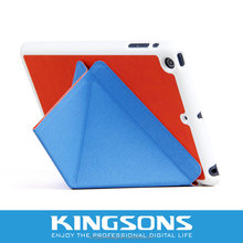 New Product 2014 Stylish Triangle Stand Tablet Case for Ipad Mini 7.9 inch