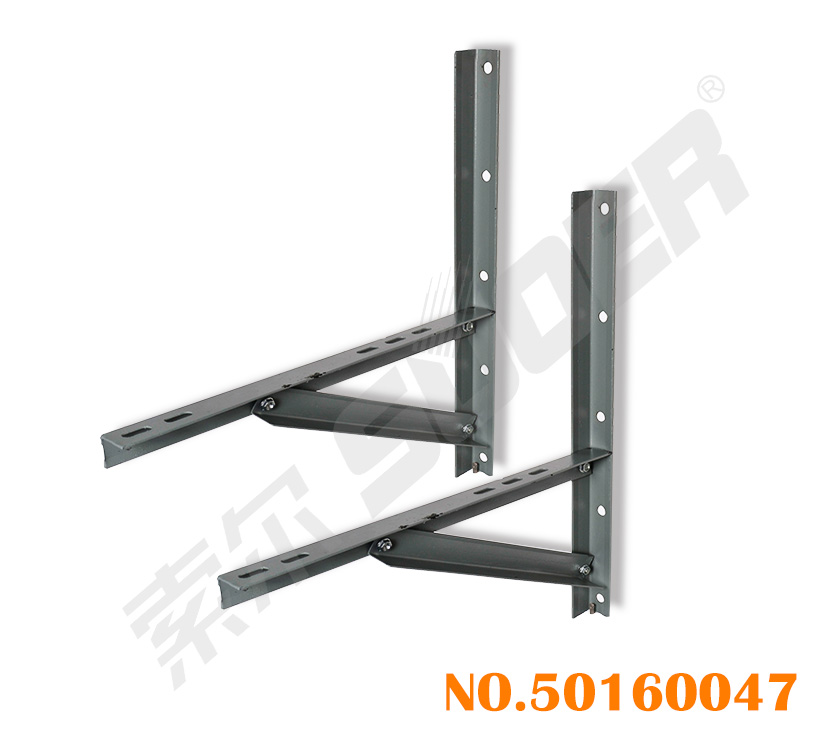 Suoer Screw Iron Bracket for Air Conditioner Superb Quality Stand (3P)