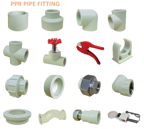 All types wholesale export plastic ppr pipe fittings buy for Types of plastic pipes