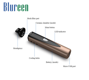 Hot selling wax pen vaporizer dry herb attachment portable dry herb vaporizer e cigs mods