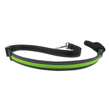 LED Dog Leash, USB Rechargeable,Glow in the Dark, Makes Your Pets Be Seen& Be Safe When Night Walking