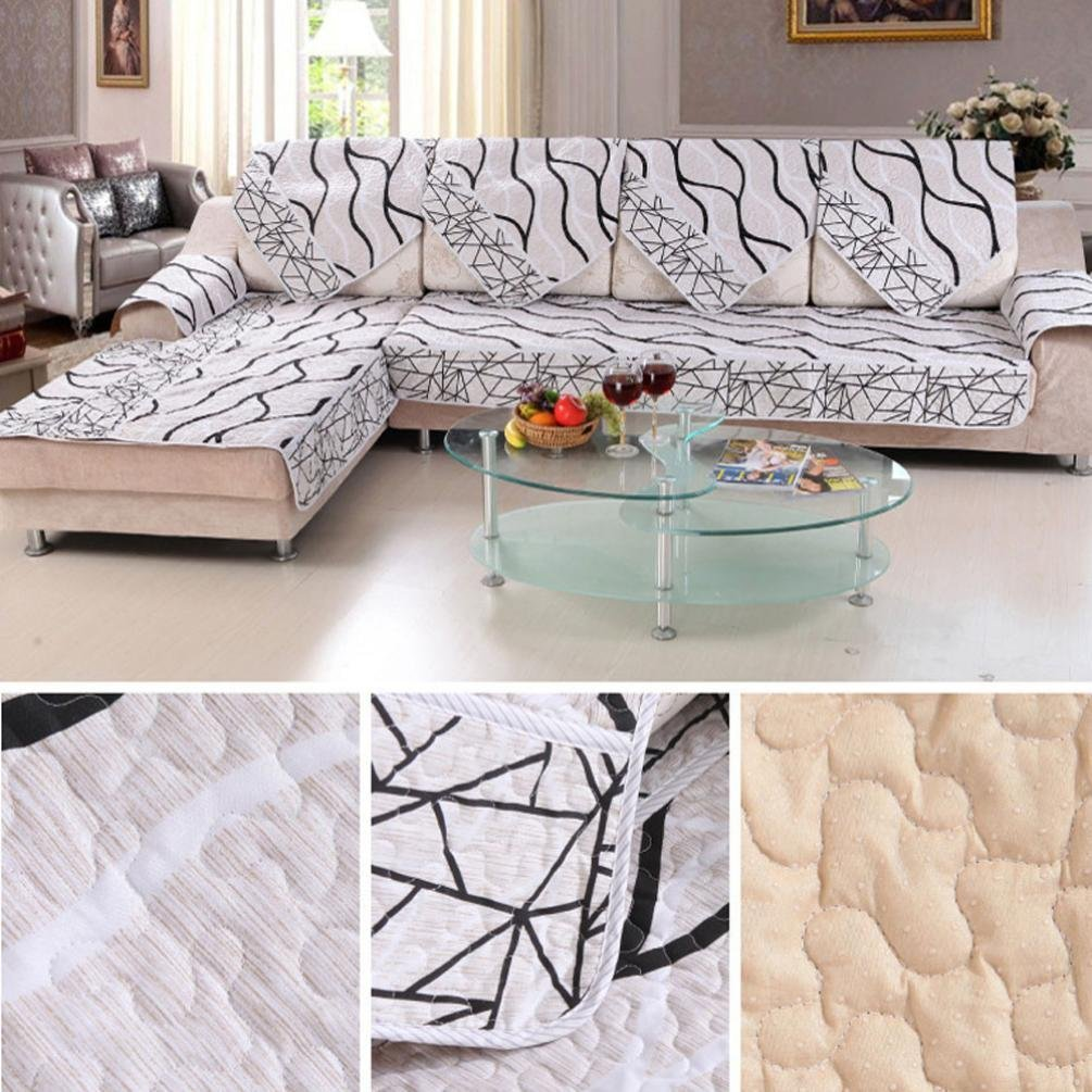 Marvelous Get Quotations · Sofa Slipcovers Sofa Cover Sear Cover, GOTD Sofa Cover  Black And White Striped Sofa Sectional