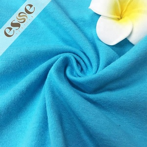 High quality Free sample Combined Order stretch 95% Cotton 5% spandex fabric for t shirt/underwear