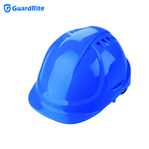Guardrite European Style Safety Helmet Construction Helmet Factory Supply W-034