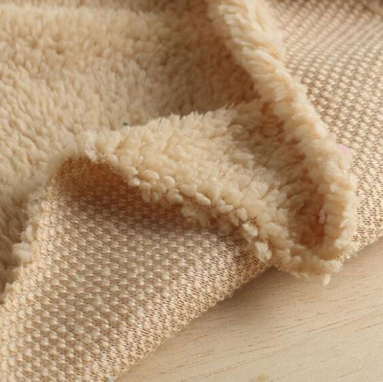 High Quality Wholesale 100% Polyester Sherpa Fleece Teddy Bear Fur Fabric For Garment Or Blanket