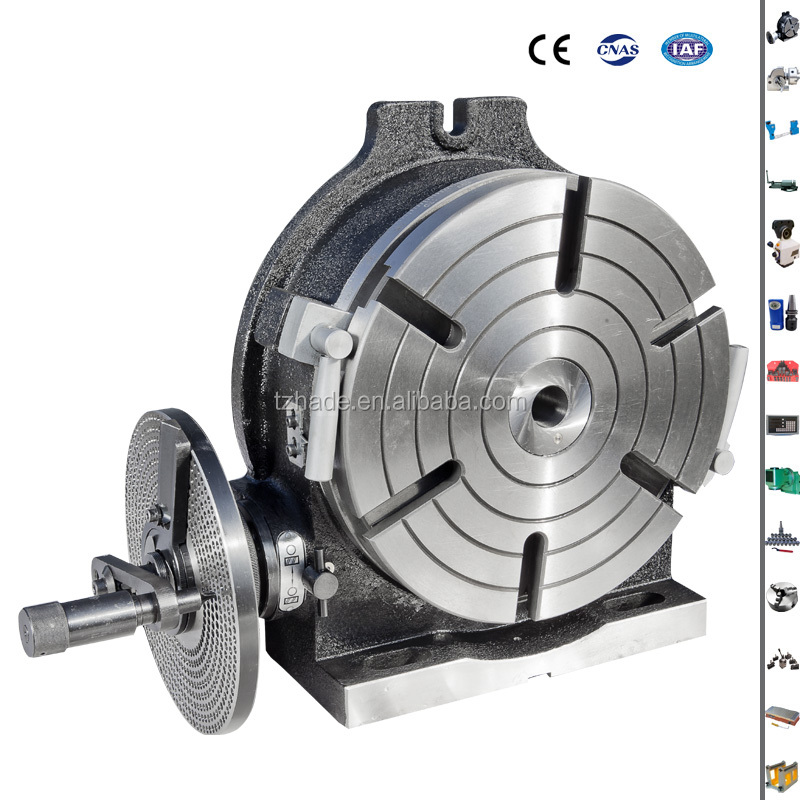VERTEX 8'' Rotary table for milling machine use