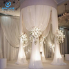Church White Curtains Backdrop Pipe And Drape For Wedding