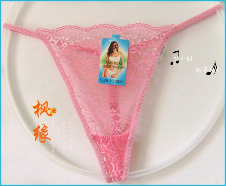 new design lace fashion sexy women's sexy g-string