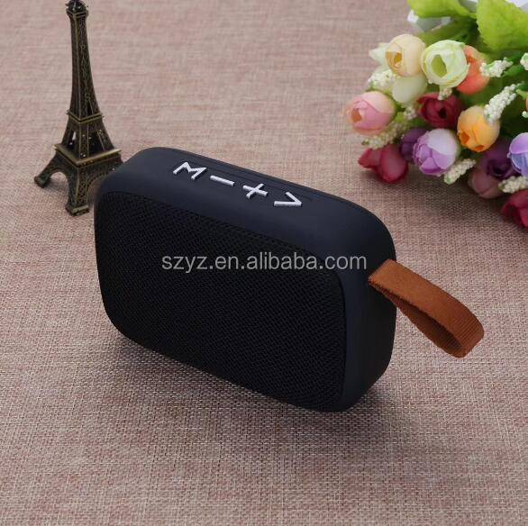 Portable Fashionable loud promotional fabric wireless Bluetooths speaker mini wireless speaker fabric bt speaker with fabric