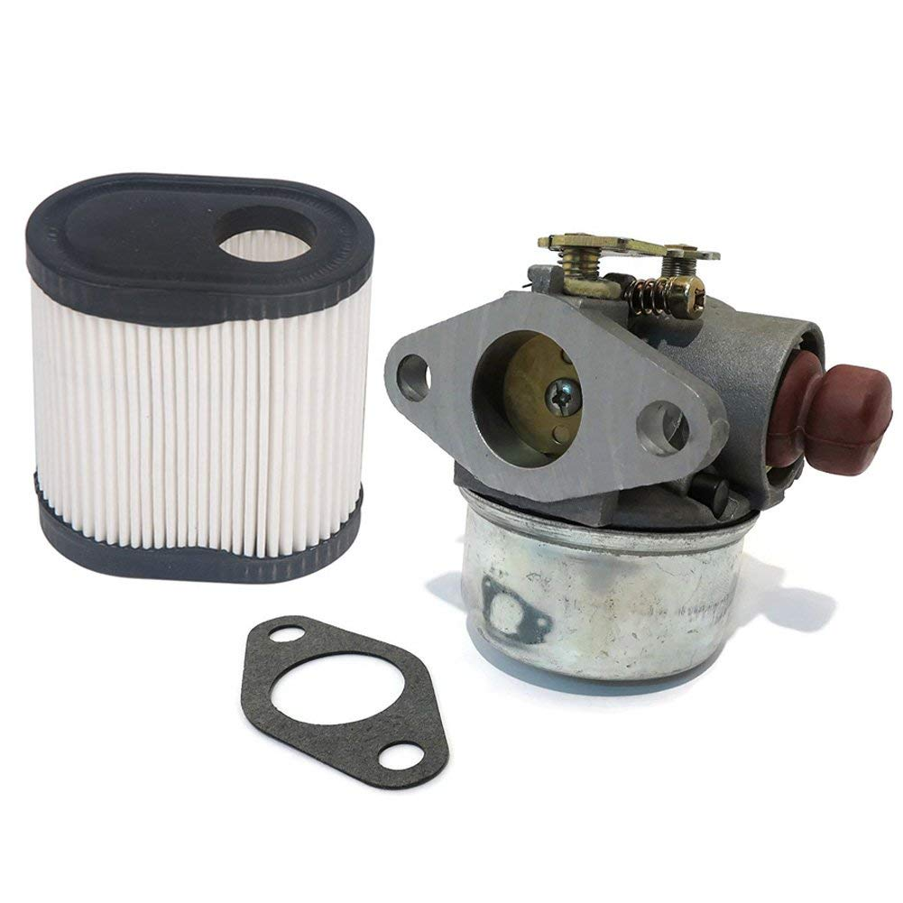 HIFROM Replace Carburetor Carb with Air Filter 36905 for Tecumseh 640278A 640278 640214 640149 LEV115 LEV120 Lawn Mower Engine