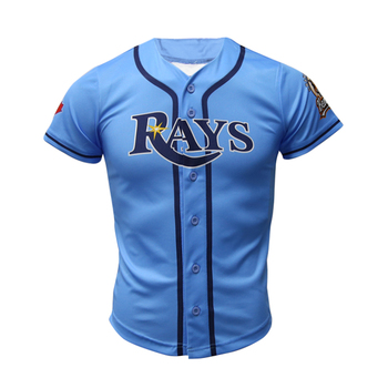 Healong Free Design Polyester Sublimated Printing Wholesale Baseball Jersey Custom Cheap Baseball Shirt