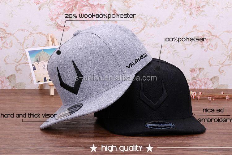 Original de la marca de calidad superior snapbacks de algodón bordado de hip  hop gorra plana 481924759d7