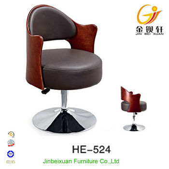 Modern Relax Leather Sofa Office Guest Chair He 524