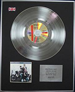 PREFAB SPROUT - Limited Edition CD Platinum Disc - STEVE McQUEEN