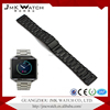 Fashion style black metal stainless steel watch band for Fitbit Blaze