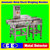 Conveyor Belt Check Weighing Mahine in Stocks, Automatic Hot Sale Electric Food Check Weigher System for Sale