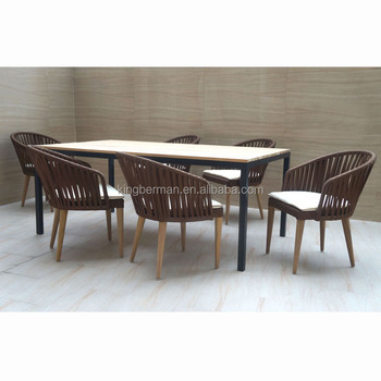 Pleasant Hot Sale Teak Wood Table Set Garden Outdoor Furniture Waterproof Dining Table Ans Chairs Furniture Buy Garden Outdoor Furniture Rustic Teak Outdoor Uwap Interior Chair Design Uwaporg