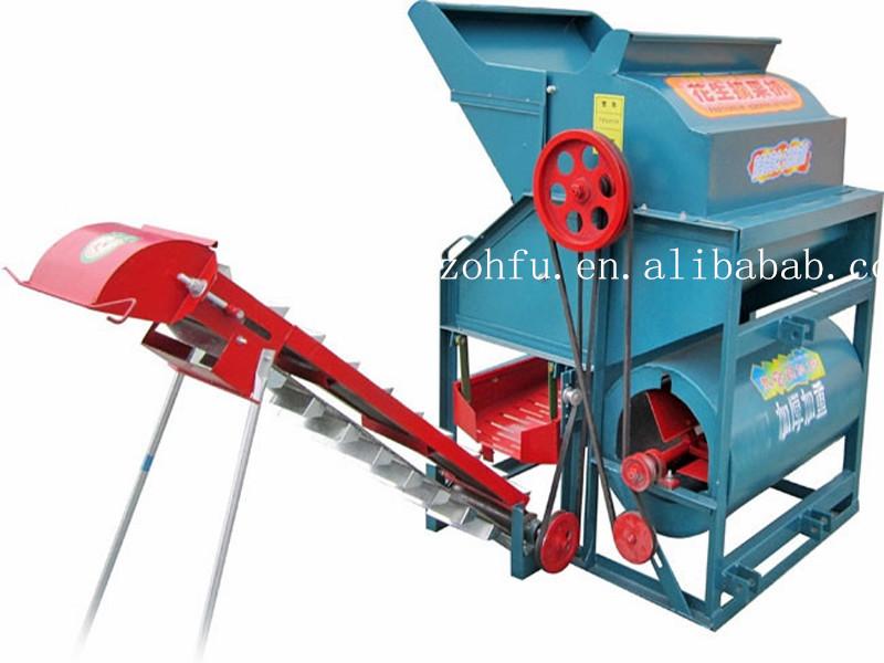 Combine Peanut Harvesting Machine/peanut Harvester With China ...