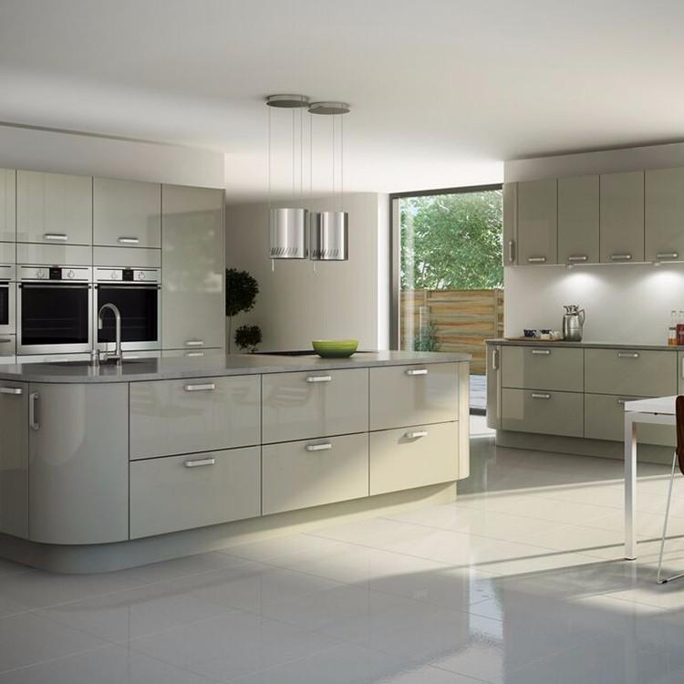 Laca Interior Mdf Muebles Completo Set Gabinete De Cocina Modular ...