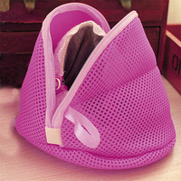 cotton washing Double Mesh Compartment Bras Bags High Quality