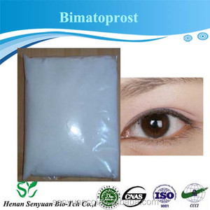 Factory supply API raw material 99% purity Bimatoprost 155206-00-1 for Eye health care