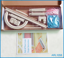 Top quality 100% ABS multi function knitting set super knitting loom