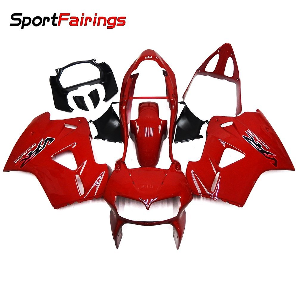Sportfairings Full Fairing Kits For Honda VFR800 VFR800Fi RC46 1998-2001 Fairings Cowlings Pure Red