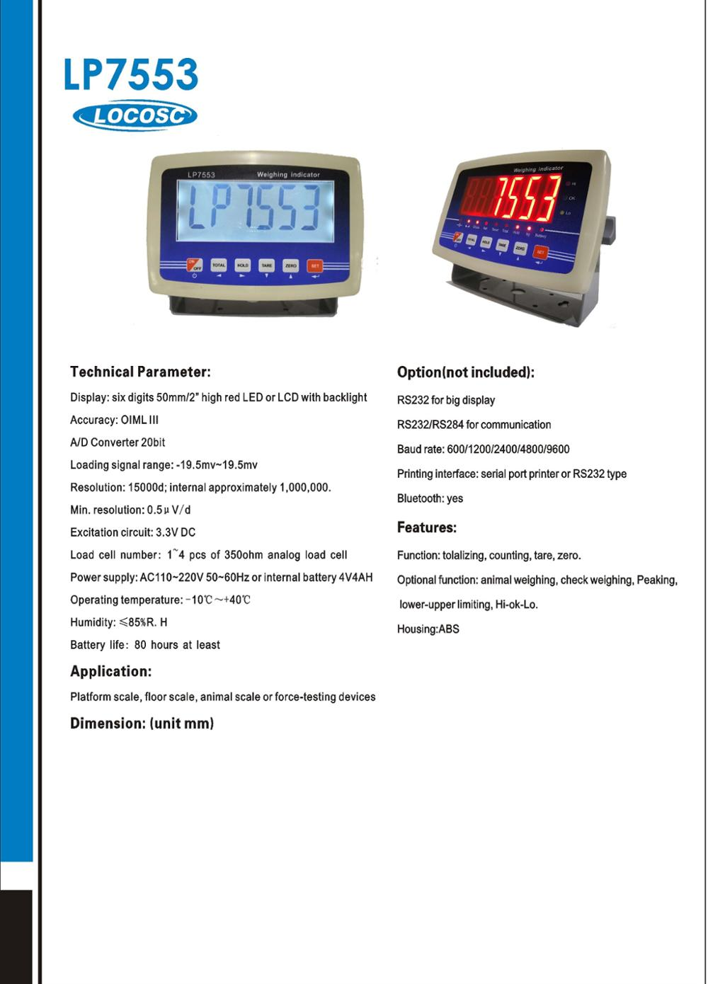 China Weighing Indicator,Time Scale Electronic Digital weight Indicator