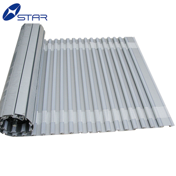Vertikale Oder Horizontale Rollladen Aluminium Tambour Tür/rolltor ...
