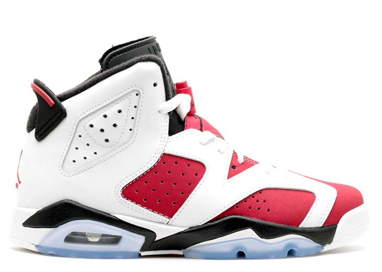 Get Quotations · Tony Barnard Retro Basketball Shoe Air Jordan 6 Retro bg  gs carmine White carmine black 011929