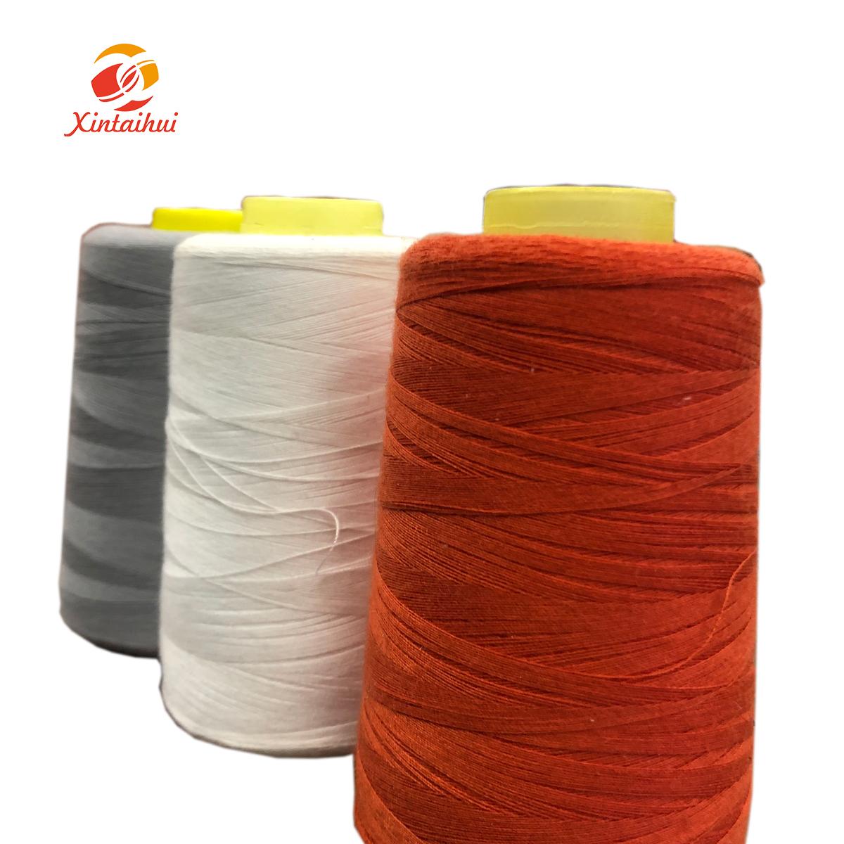 40//2 Spool 10 colour 100/% Cotton Thread Reel Machine Overlock Hand Sewing Thread