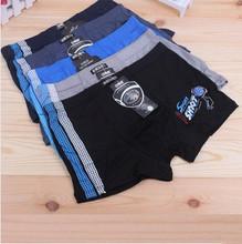 5 Pcs/Lot Bamboo Fiber Children Underwear Sports Boys Shorts Panties Kids Boxer Briefs Mix design and Colors