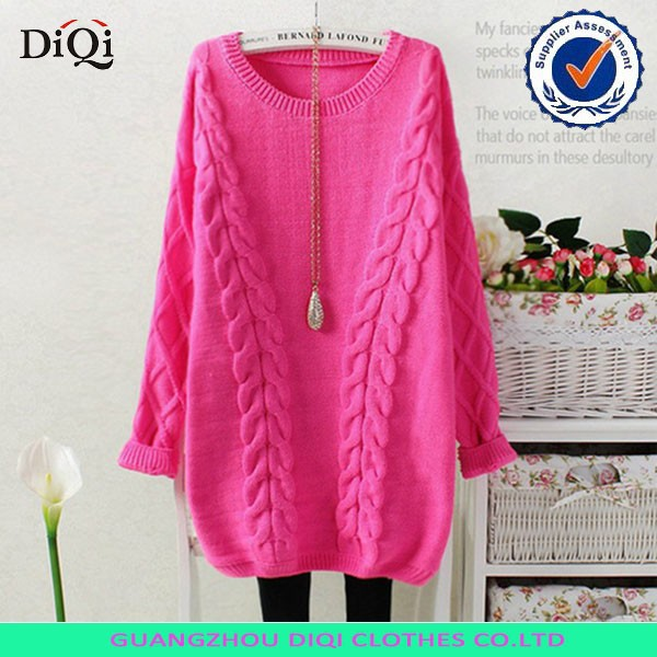 Korean Fashion Apparel Knit Sweater For Young Girls,Handmade Knit ...